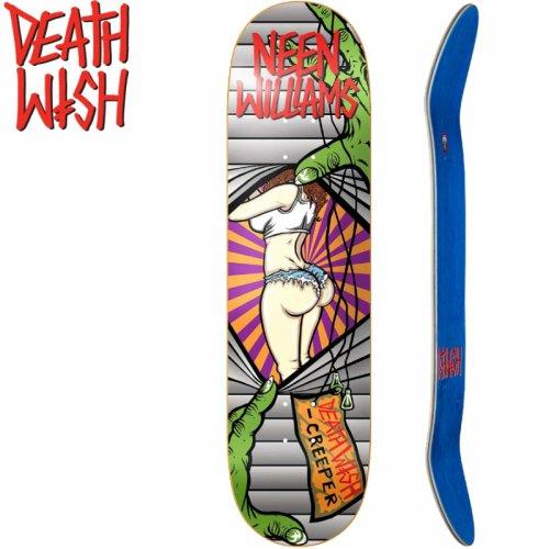 【デスウィッシュ DEATH WISH スケボー デッキ】NEEN CREEPER 2 DECK [8.1インチ][8.5インチ]NO41