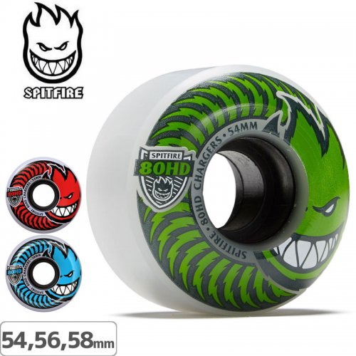 【SPITFIRE スピットファイア ウィール】80HD CLASSIC CHARGER [2カラー][54mm] [56mm]NO192