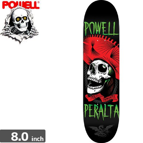 【パウエル POWELL スケボーデッキ】POWELL PERALTA TE CHINGASTE DECK【8.0 x 31.25】NO21