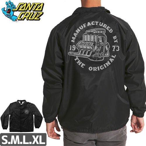【サンタクルーズ SANTA CRUZ ジャケット】MOTOR COACH WINDBREAKER JACKET【ブラック】NO6
