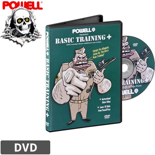 【パウエル POWELL DVD】BASIC TRAINING PLUS【北米版】NO08