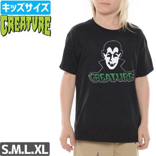 【CREATURE クリーチャー キッズ Tシャツ】VAMP YOUTH TEE【ユースサイズ】NO9