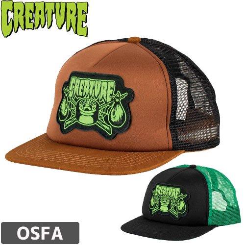 【クリーチャー CREATURE キャップ】TRANSIENT TRUCKER MESH HAT【2カラー】NO44
