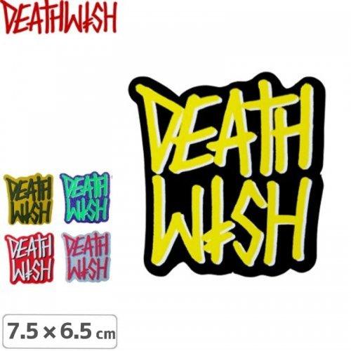 【デスウィッシュ DEATHWISH ステッカー】DEATHSTACK FALL【5色】【7.5cm x 6.5cm】NO127