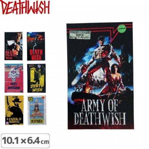 【デスウィッシュ DEATHWISH ステッカー】VHS WASTELAND【7タイプ】【10.1cm x 6.4cm】NO128