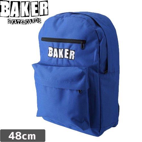 【ベーカー BAKER スケボー バックパック】LEGEND【ブルー】NO04