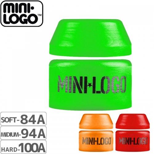 【MINI LOGO スケボー ブッシュ】Mini Logo Bushings【3カラー】NO01