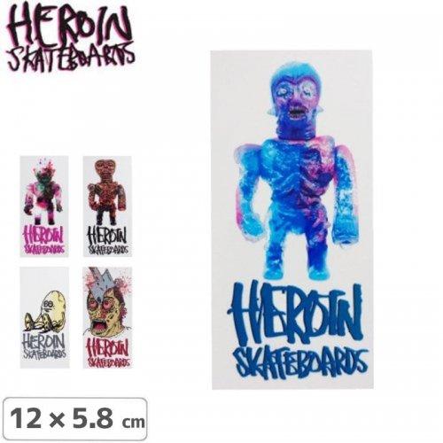 【HEROIN ヘロイン スケボー ステッカー】 FALL 16 STICKER【5タイプ】【12cm × 5.8cm】NO19