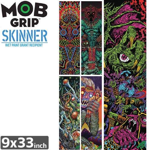 【モブグリップ MOB GRIP デッキテープ】SKINNER SINGLE SHEET【9 x 33】NO154