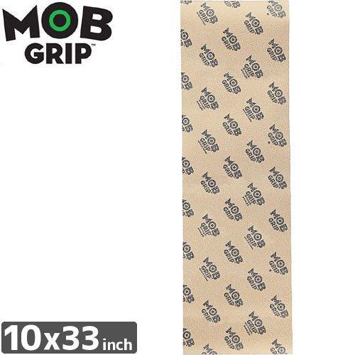 【モブグリップ MOB GRIP デッキテープ】CLEAR SINGLE SHEET CLEAR【10 x 33】NO157