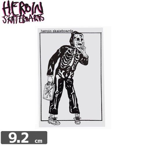 【HEROIN ヘロイン スケボー ステッカー】TWISTED ROAD【9.2cm × 6.1cm】NO23