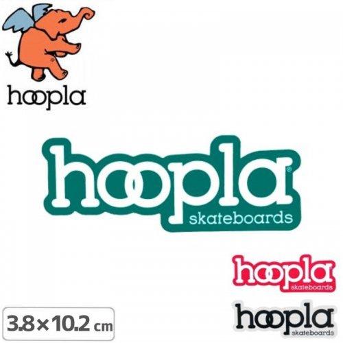 【フープラ HOOPLA スケボー ステッカー】HOOPLA STICKER【3.8cm×10.2cm】NO1