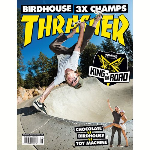 【THRASHER MAGAZIN スラッシャー マガジン】SEPTEMBER 2016 ISSUE #434 NO01