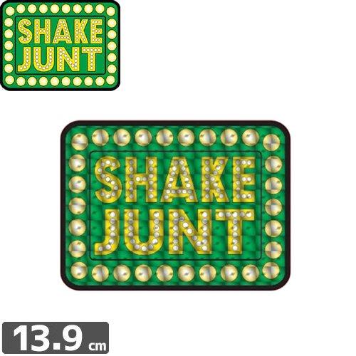 【シェークジャント Shake Junt sticker ステッカー】BOX LOGO HOLOGRAM【10.3cm x 13.9cm】NO41