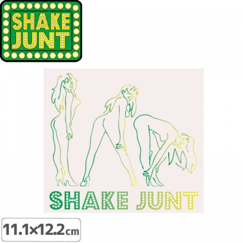 【シェークジャント Shake Junt sticker ステッカー】PURE PASSION【11.1cm x 12.2cm】NO42