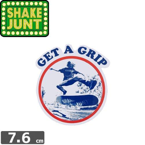 【シェークジャント Shake Junt sticker ステッカー】GET A GRIP【7.6cm x 6.8cm】NO45