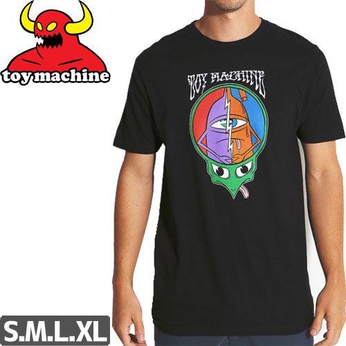 【トイマシーン TOY MACHINE スケボー Tシャツ】TURTLEHEAD TEE【ブラック】NO241