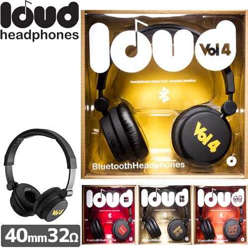 【LOUD HEADPHONES ラウド ヘッドホン】BLUETOOTH HEADPHONES COLLABORATION【ブルートゥース】NO9
