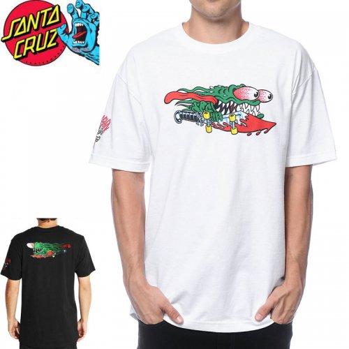 【サンタクルズ SANTA CRUZ Tシャツ】30TH ANNIVERSARY SLASHER【2色】NO94
