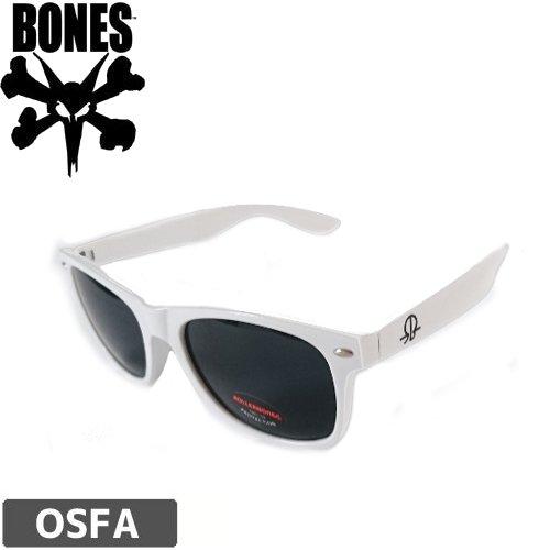 【ボーンズ BONES スケボー サングラス】ROLLERBONES SUNGLASSES【ホワイト】NO5