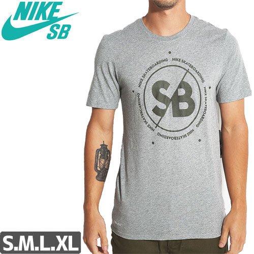 【NIKE SB ナイキ Tシャツ】DRI-FIT SLASH TEE【ヘザーグレー】NO42