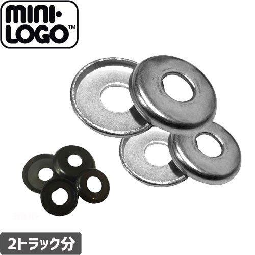 【MINI LOGO スケボー スペアパーツ】CAP WASHER【2色】【カップワッシャー】NO2