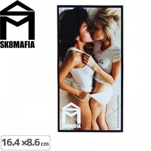 【スケートマフィア SK8MAFIA ステッカー】SKATEMAFIA GIRLS STICKER【8.6m x 16.4cm】NO54