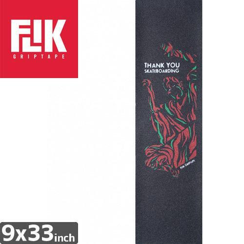 【フリック FLIK デッキテープ】THANK YOU SKATEBOARDING GRAPHIC GRIPTAPE【9 x 33】NO41