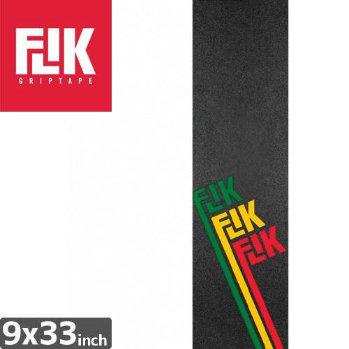 【フリック FLIK デッキテープ】RASTA LOGO GRAPHIC GRIPTAPE【9 x 33】NO44