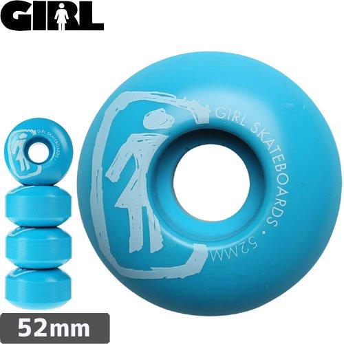【GIRL ガールスケートボード ウィール】SKETCHY【52mm】NO32