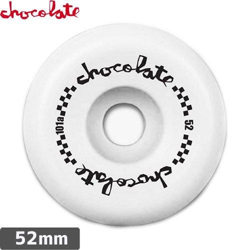 【チョコレート CHOCOLATE ウィール】CHECKERED CLASSIC【52mm】NO32