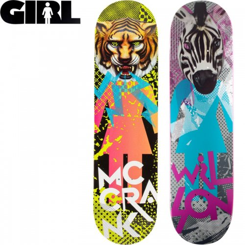 【ガール GIRL スケボーデッキ】CANDY FLIP DECK[8.0インチ][8.12インチ][8.25インチ]NO187
