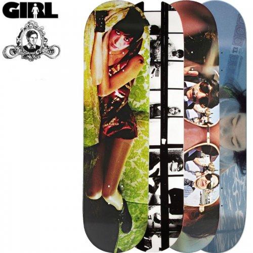 【ガール GIRL スケボーデッキ】SPIKE JONZE DECK[8.0インチ][8.12インチ][8.25インチ][8.37インチ]NO189