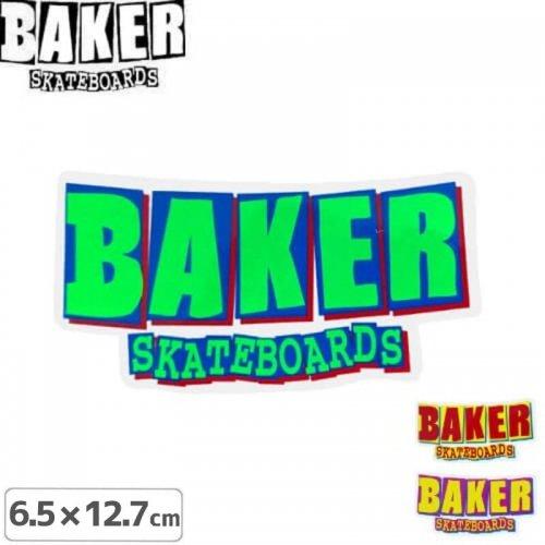 【ベーカー BAKER SKATEBOARD スケボー ステッカー】HOLIDAY 15 STICKER【3色】【6.5cm×12.7cm】NO62