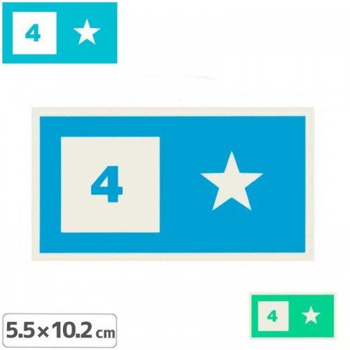 【FOURSTAR フォースター Sticker ステッカー】BAR LOGO【5.5cm x 10.2cm】NO6