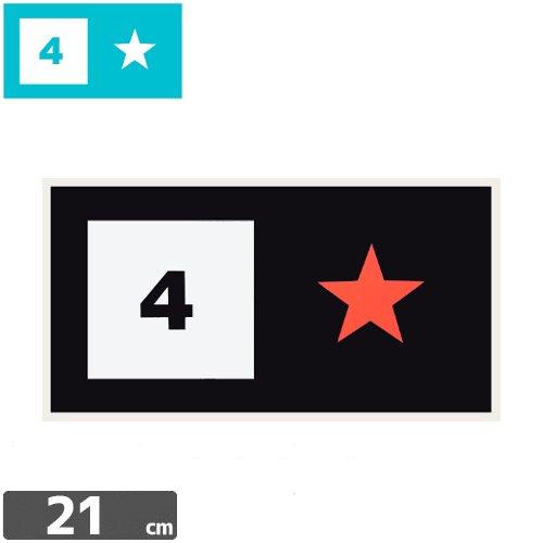 【FOURSTAR フォースター Sticker ステッカー】BAR LOGO【11.2cm x 21cm】N14