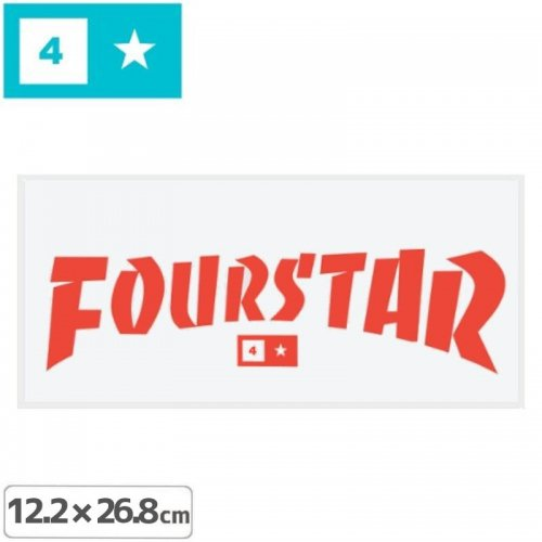 【FOURSTAR フォースター STICKER ステッカー】CLOTHING  THRASHER【12.2cm x 26.8cm】NO15