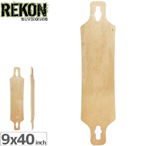 【REKON リーコン デッキ】DROP THROUGH SPEED DECK[9.0インチ]NO16
