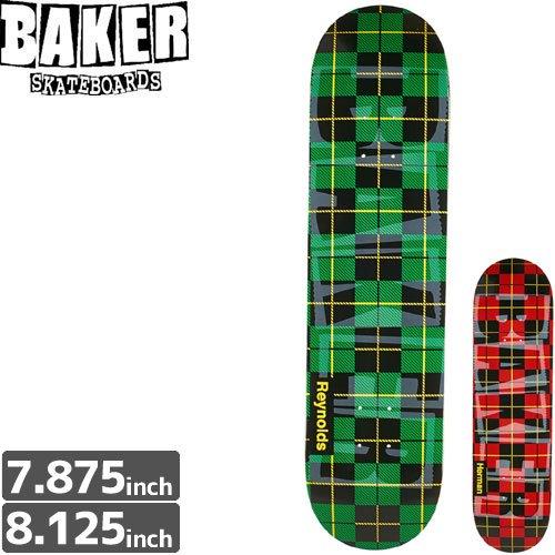 【ベーカー BAKER スケボー デッキ】BRAND NAME TAPE DECK[8.125インチ]NO144