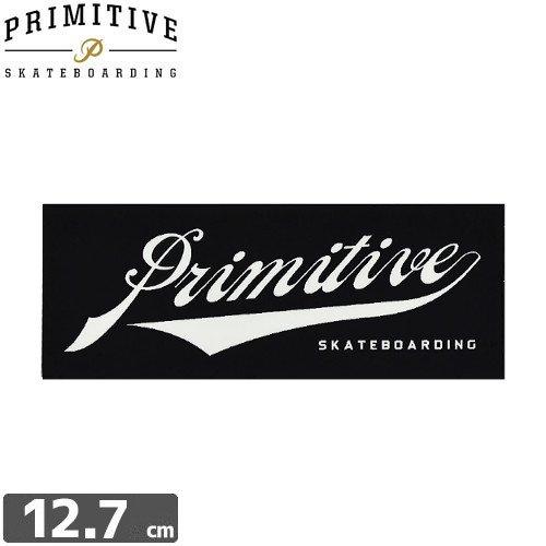 【プレミティブ PRIMITIVE スケボー ステッカー】UNION SCRIPT【4.7cm×12.7cm】NO1