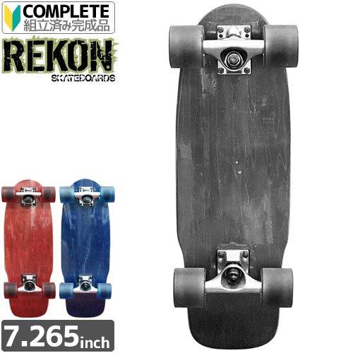 【REKON ロングボード クルーザー】CRUISER STAIN BOARD COMPLETE[24インチ]NO1