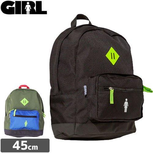 【GIRL ガールスケートボード スケボー バックパック】SCHOOL YARD BACKPACK リュック NO14