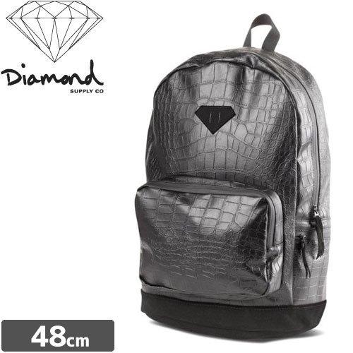 【ダイヤモンド DIAMOND SUPPLY CO スケボー バックパック】CROC BACKPACK【クロコダイル】NO2