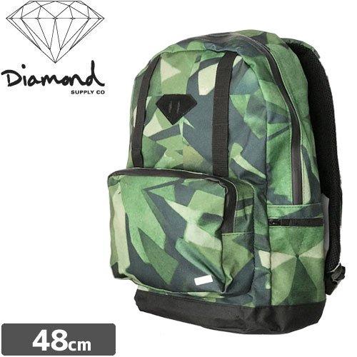 【ダイヤモンド DIAMOND SUPPLY CO スケボー バックパック】SYMPLICTY BACKPACK【グリーン】NO3