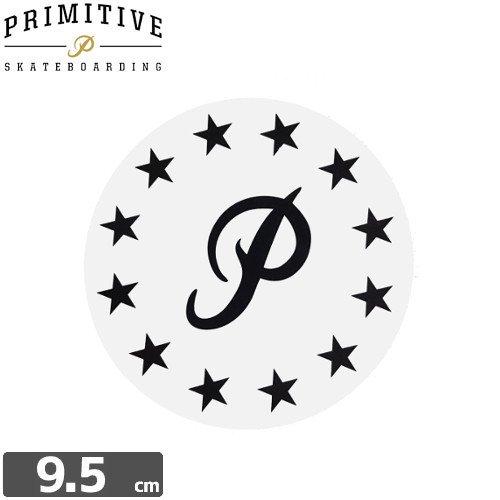 【プレミティブ PRIMITIVE スケボー ステッカー】P SHANE【9.5cm×9.5cm】NO5