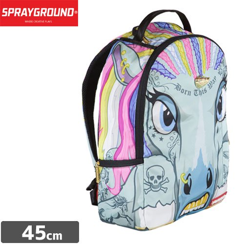 【SPRAYGROUND スプレーグラウンド バッグ】UNICORNROWS BACKPACK B382 NO6