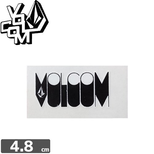 【ボルコム VOLCOM ステッカー】STICKER【2.1cm x 4.8cm】NO83