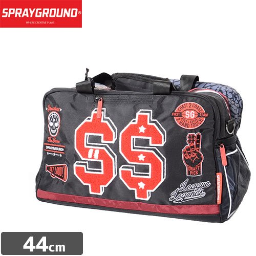 【SPRAYGROUND スプレーグラウンド バッグ】VARSITY MONEY DUFFLE D070 NO11
