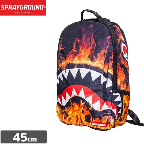 【SPRAYGROUND スプレーグラウンド バッグ】FIRE SHARK BACKPACK B442 NO15