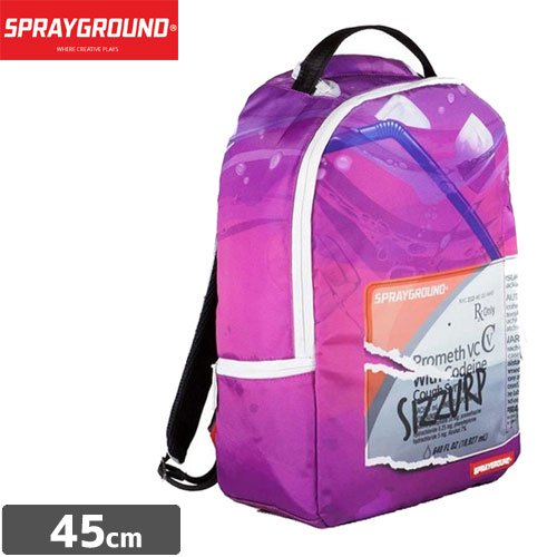 【SPRAYGROUND スプレーグラウンド バッグ】SECRET INGREDIENT THE STREET SURVIVAL COLLECTION BACKPACK B383 NO16